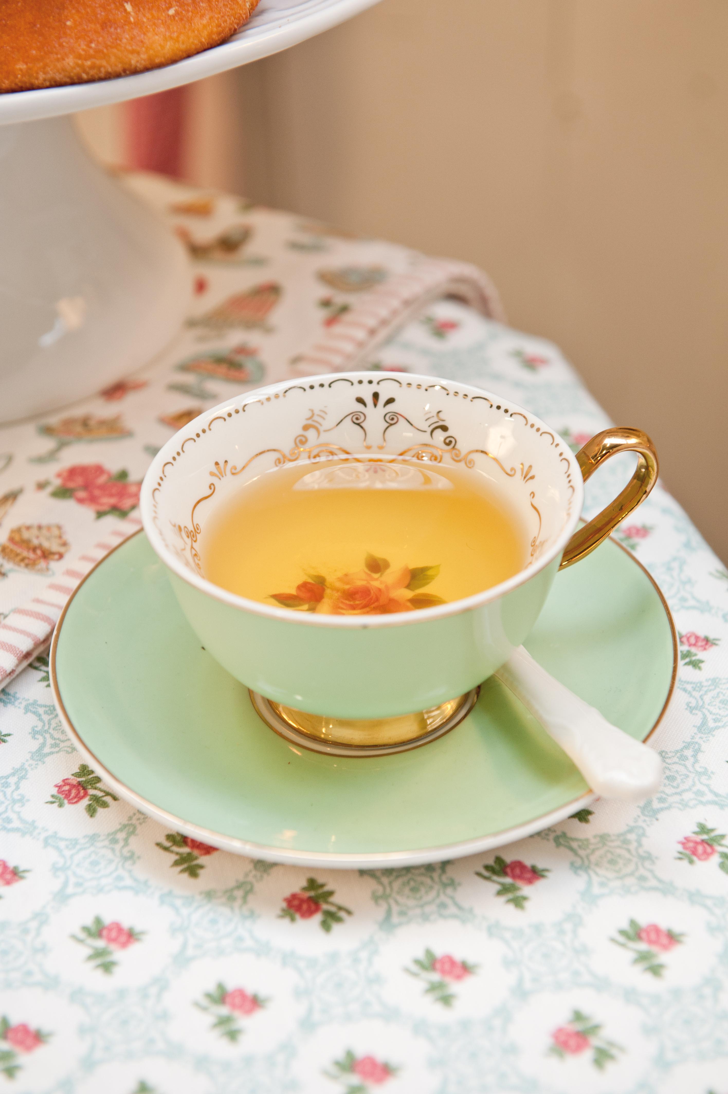 Štýlový čaj o piatej