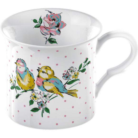 Porcelánový hrnček Bird Song 250ml
